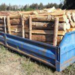 palivové dřevo metrové měkké